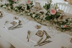 Table d'honneur boheme