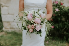 Bouquet mariée boheme chic