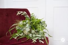 Bouquet de mariée feuillage